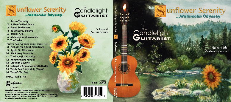 Sunflower Serenity...Water by The Candlelight Guitarist ®